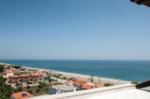 Family 1 Space Rooms Sea View, Golden Beach hotel: Larissa hotels Agiokampos rooms beach