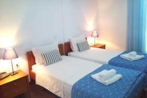 Twin Room  with two single beds - Mountain View, Golden Beach hotel: Larissa hotels Agiokampos rooms beach
